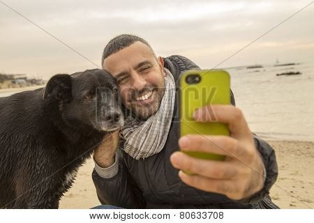 Best Friends Taking A Selfie Image For Social Media