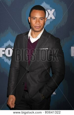 LOS ANGELES - JAN 17:  Trai Byers at the FOX TCA Winter 2015 at a The Langham Huntington Hotel on January 17, 2015 in Pasadena, CA