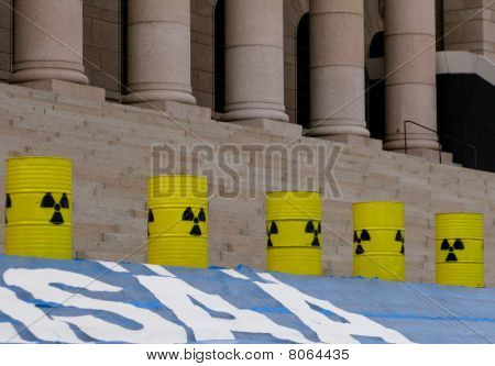 Demonstration agains nuclear power