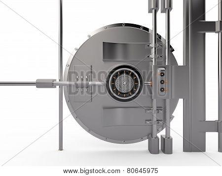 Vault Door, 3D