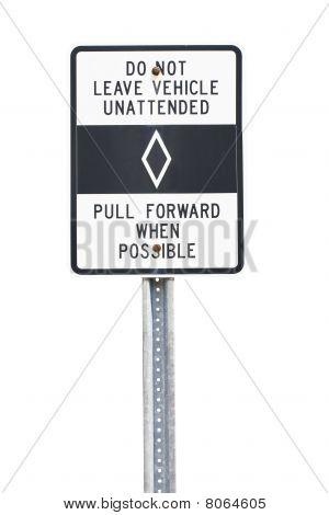 Carpool Lane Sign