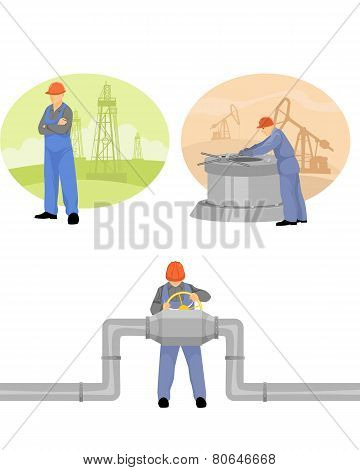 Oilman Background In  Infrastructure