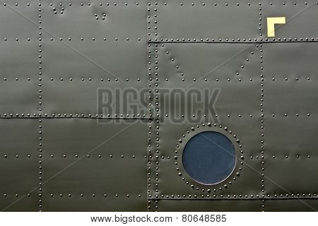 Airplane Fuselage Detail