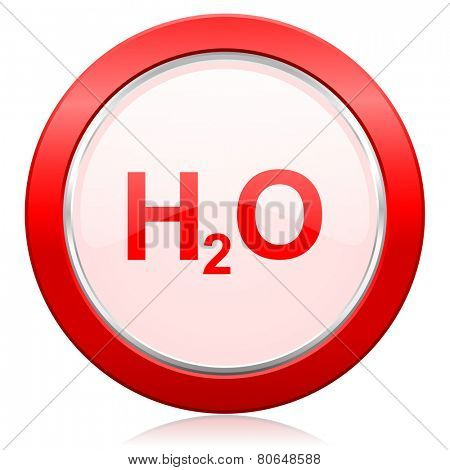 water icon h2o sign