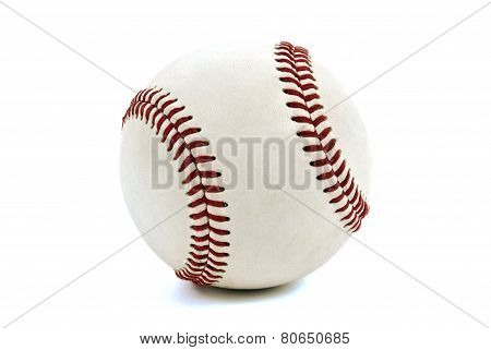 The Baseball Isolated On White