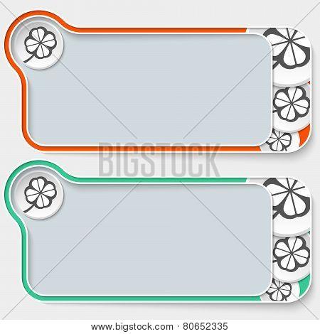 two frames and cloverleaf