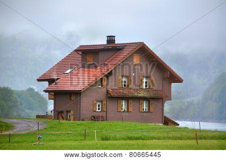 Old Barn In Switzerland