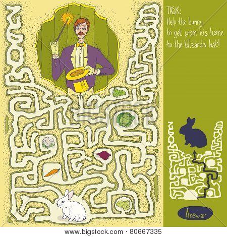 Wizard Maze Game