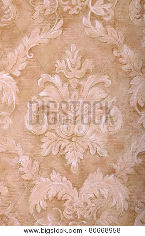 Vintage Beige Wallpaper Background