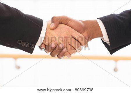 Sealing A Deal.