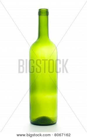 Open Empty Wine Bottle