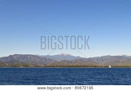 Mediterranean coast, Turkey Fethiye