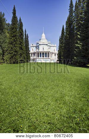 Waterslide pavilion. Oranienbaum (Lomonosov). Upper park.