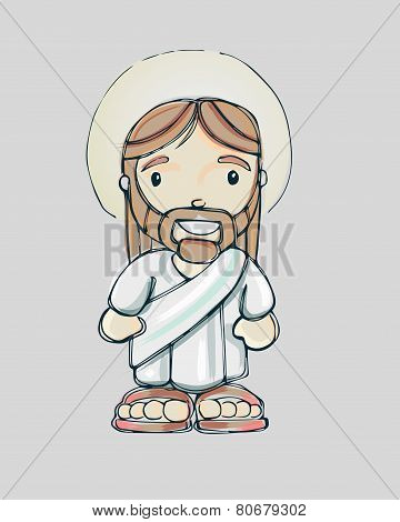 Jesus cartoon b