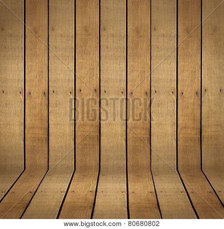 Hardwood Scene Background and Floor