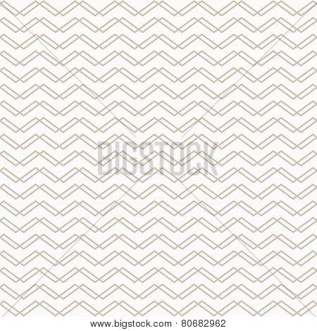 Abstract Chevron Grey Geometric Pattern
