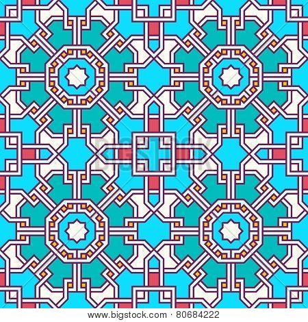 Tangled Labyrinth Pattern