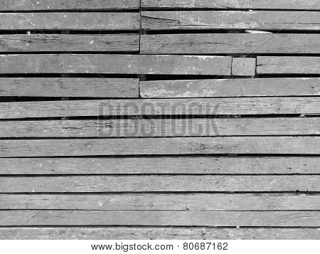 Wood Slat Floor Texture Black And White