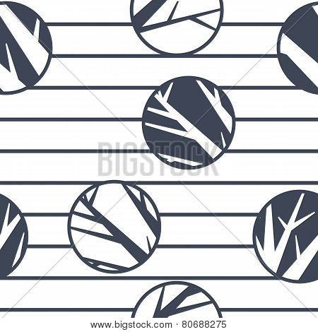 vector abstract seamless pattern, creative background