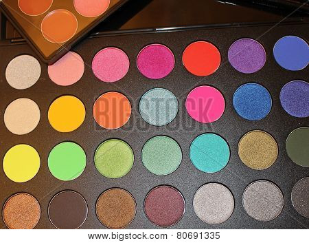bright palette of shadows
