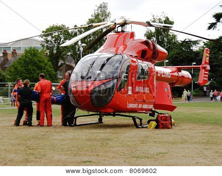 London Air Ambulance Rescue (2)
