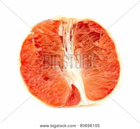 Tasty Juicy Pink Grapefruit Flesh