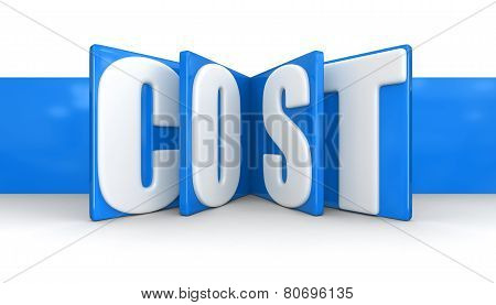 Label with Cost (clipping path included)