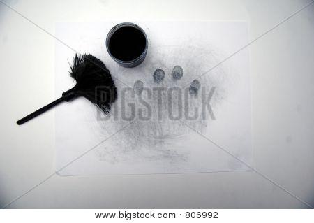 Latent fingerprints # 1