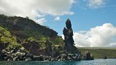 picture of buccaneer  - Buccaneer Cove is a testament to the fact that Santiago Island was once a refuge for British buccaneers - JPG