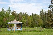 stock photo of shacks  - Abandoned 2 - JPG