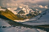 picture of karakoram  - Scenic valley in Pamir mountains in Tajikistan - JPG