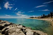 picture of beach-house  - Cottesloe Beach in Perth - JPG