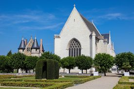 stock photo of anjou  - Chapel in the Chateau d - JPG