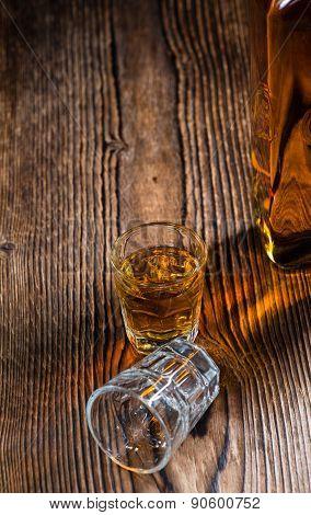 Small Whiskey Shot