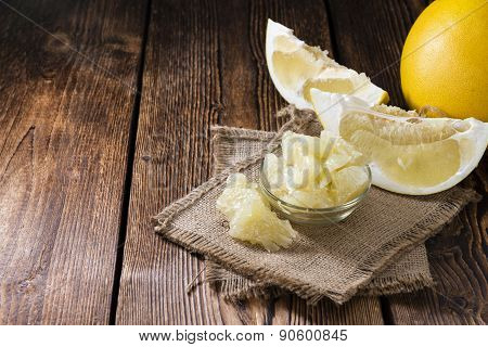Pieces Of Pomelo
