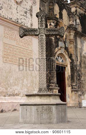 Cross in Granada, Nicaragua