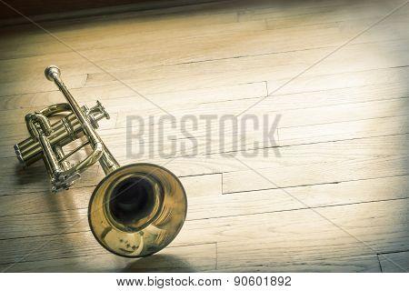 Trumpet Wooden Floor