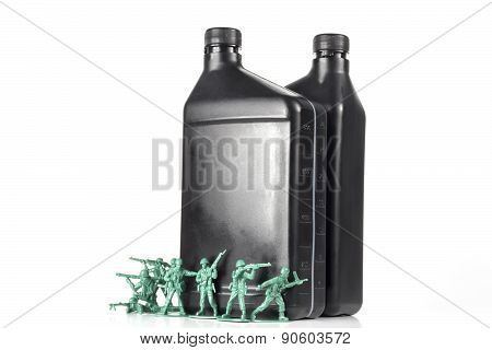 Army Men Oil