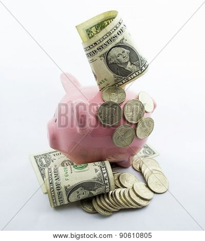 Retirees Retirement Piggy Bank Account