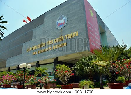 War Remnants Museum Building In Ho Chi Minh City