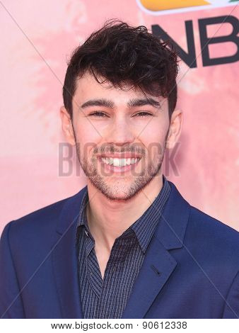 LOS ANGELES - MAR 29:  Max arrives to the 2015 iHeartRadio Music Awards  on March 29, 2015 in Hollywood, CA