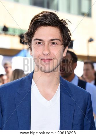 LOS ANGELES - APR 12:  Nat Wolff arrives to the MTV Movie Awards 2015  on April 12, 2015 in Hollywood, CA