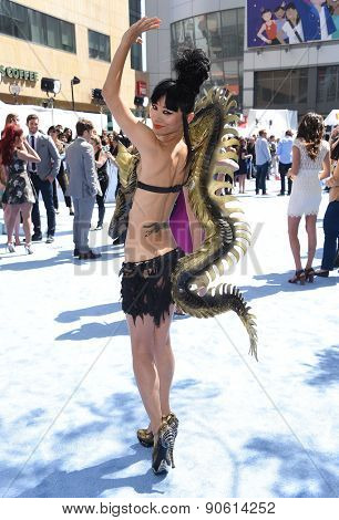 LOS ANGELES - APR 12:  Bai Ling arrives to the MTV Movie Awards 2015  on April 12, 2015 in Hollywood, CA