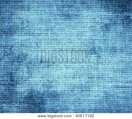 Grunge background of aero burlap texture