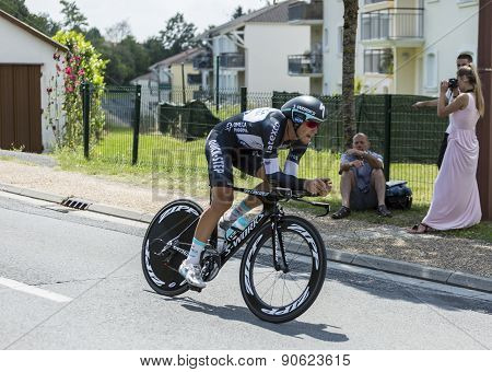 The Cyclist Matteo Trentin - Tour De France 2014
