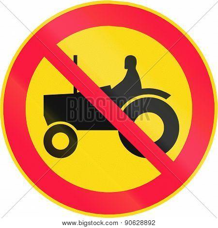 No Tractors In Finland