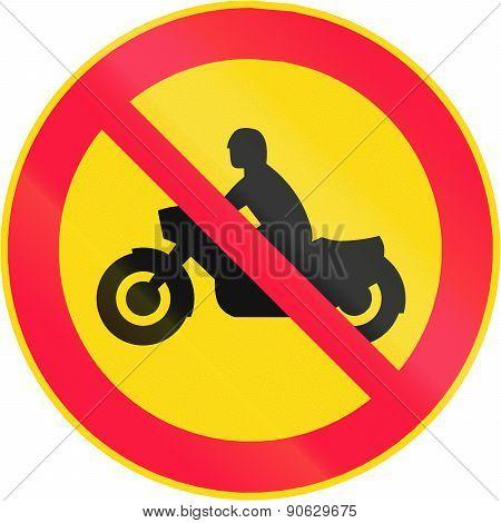 No Motorcycles In Finland