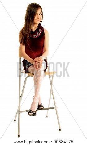 Attractive Teen Model