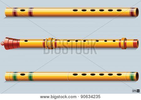 Flute - Illustration