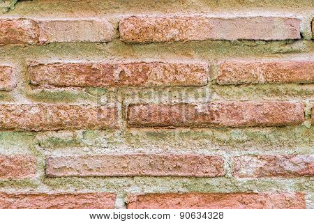 Closeup Of Bricks Wall